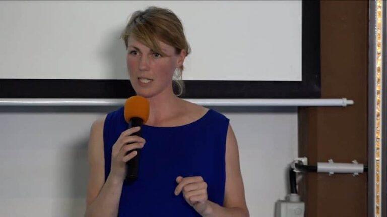 Nora Hespers beim Literaturcamp Heidelberg 2017