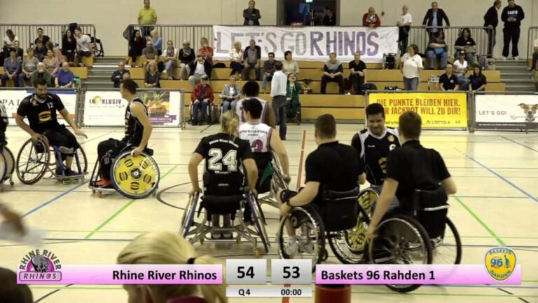 Rhine River Rhinos vs. Baskets 96 Rahden