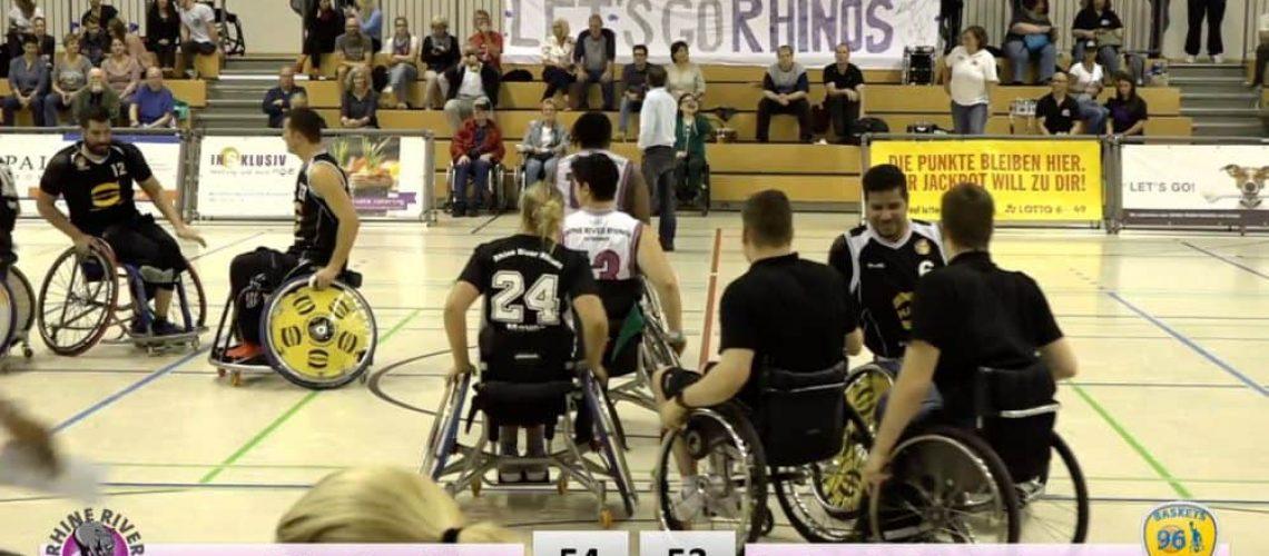 Rhine River Rhinos vs. Baskets 96 Rahden